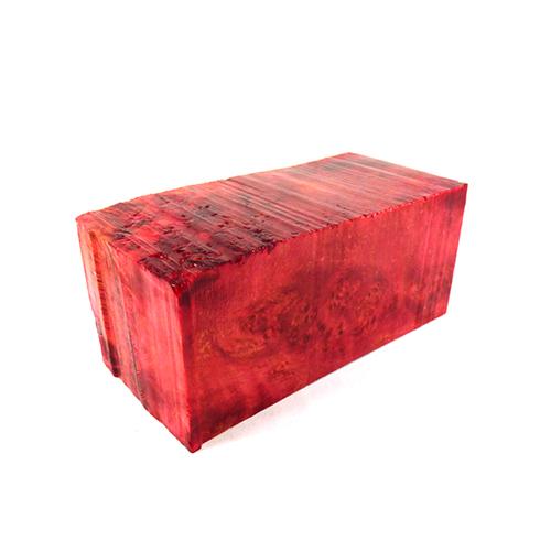 red stab wood block 100095