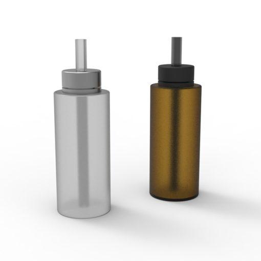 8.9ml 20mm diameter bottom fed squonk bottles
