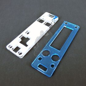 Board mount / holder for evolv dna75, dna200, dna250 boards to be used to fit a board securely into an enclosure