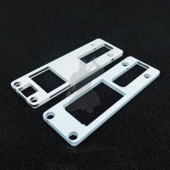 dna250c board and screen holder with a blanked off fire button area