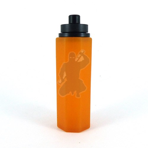 Best Squonk Refill Bottle by Stealthvape. Black and Amber.