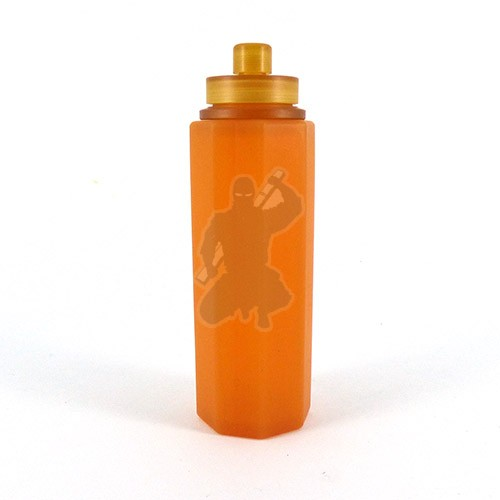squonk refiller bottle. Amber and Ultem.