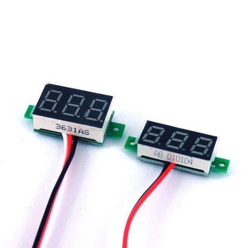 "LED Volt meter 0.28"" 0.36"" for box mods"