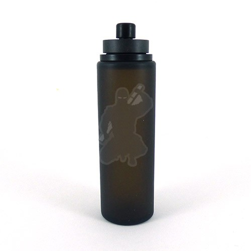 Round Squonk Refiller Bottle. Black.