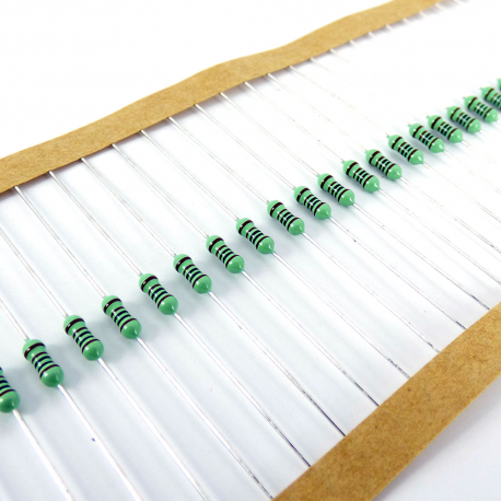 MEtal film resistors for mod makers