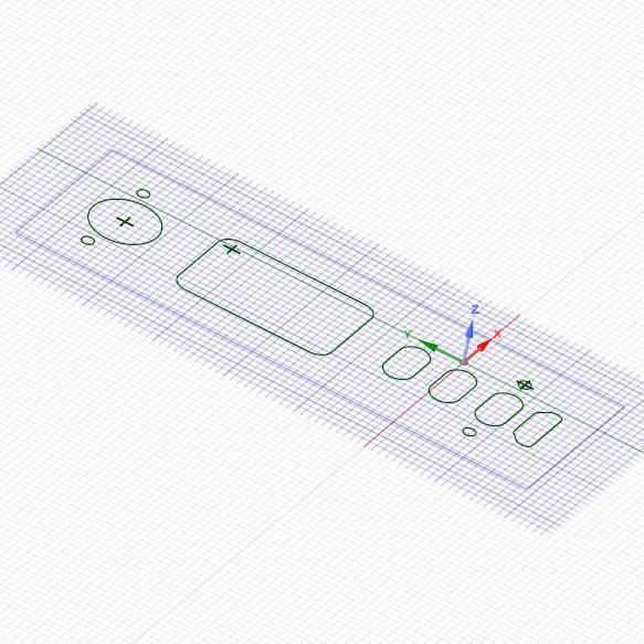 Evolv DNA75C Cutouts