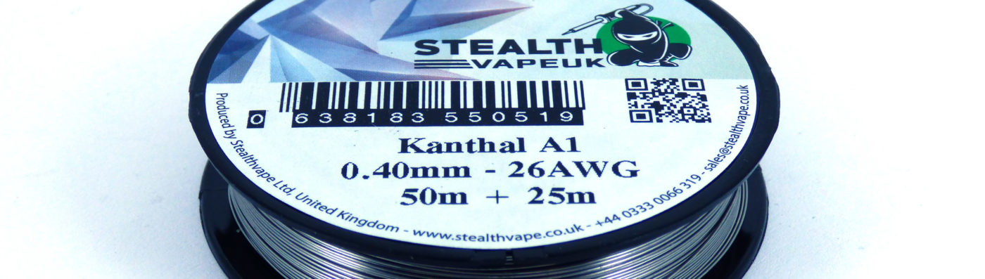 Stealthvape wire reel branding