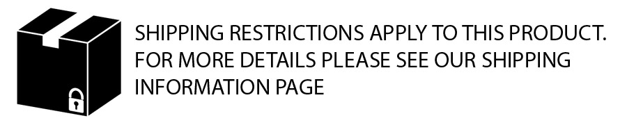 Shipping restrictions banner